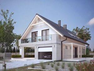 projekty nowoczesnych domow